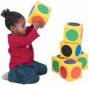 Match the Dots Soft Foam Block by Children's Factory