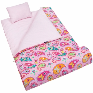 Olive Kids Paisley Sleeping Bag by Wildkin