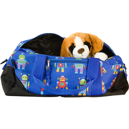 Olive Kids Robots Duffel Bag by Wildkin