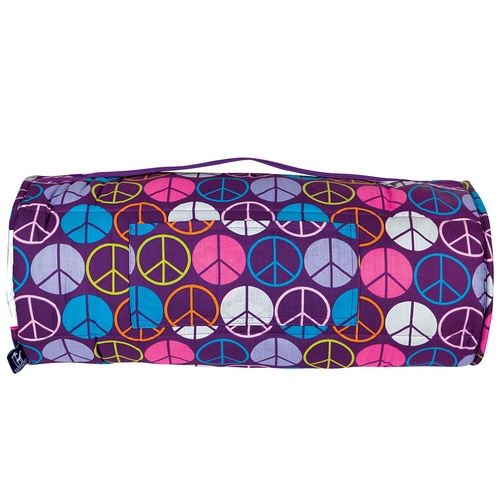 Peace Signs - Purple Nap Mat by Wildkin
