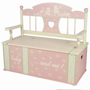 Rock-A-My-Baby Bench Seat with Storage by Levels of Discovery
