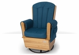 SafeRocker Deluxe Adult Glider Rocker by Foundations