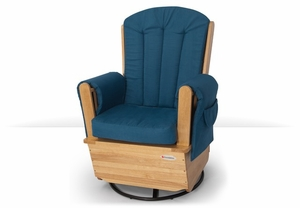 SafeRocker Deluxe Adult Glider Rocker Swivel by Foundations