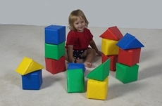 Shape n Color Soft Foam Block Set by Children's Factory