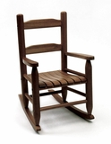 Walnut Kids Rocking Chair by Lipper