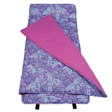 Watercolor Ponies Purple Original Nap Mat by Wildkin
