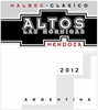 Altos Las Hormigas Malbec 2012 (750 ml)