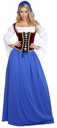 Beer Maiden Costumes, Oktober Fest Costumes, German Beer Girl Dress