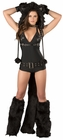Black Cat Romper Costume