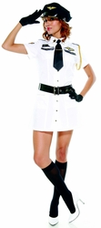 Pilot Costume, Women's Halloween Costume, Cheap Halloween Costume