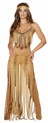 Cherokee Hottie Costume, Halloween Indian Costume, Native American Costume