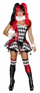 Jester Cutie Costume, Court Jester Cutie Halloween Costume, Jester Costume for Women, Circus Costumes
