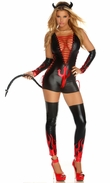 Devil Costumes for Women, Dark Fantasy Costume, Sexy Devil Costume