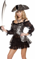 Pirate Wench, Sexy Pirate Costume, Deadly Pirate Wench Costume