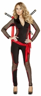 Deadly Vixen Costume, Warrior Costume, Ninja Warrior Outfit, Roma Costume 4491