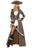 Deluxe Pirate Captain Costume, Sexy Pirate Captain Costume
