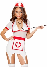 Nurse Costume, Nurse Bedroom Costume, Roma Nurse Costume 10099