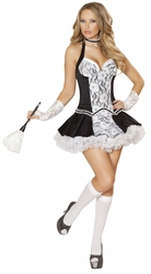Five Piece Cleaning Cutie Costume, French Maid Costumes, Roma French Maid Costume 4538