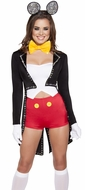 Animal Costumes, Cartoon Character Costumes, Five Piece Mousy Maiden Costume