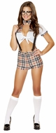 Five Piece Seductive Smarty Costume, Schoolgirl Costumes, Roma Costume 4551