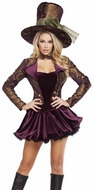 Five Piece Tea Party Tease, Tea Party Costume, Tea Party Tease 4610