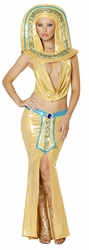Four Piece Cleopatra Cutie Costume, Cleopatra Deluxe Costume, Pharaonic Costume for Women