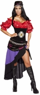 Deluxe Gypsy Costume, Fortune Teller Costume, Gorgeous Gypsy Costume