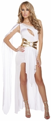 Grecian Babe Goddess Costume, Goddess Halloween Costume, Greek Princess Costume