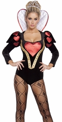 Alice in Wonderland Costumes, Queen of Hearts Costumes, Heartless Mistress Costume