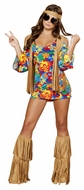 Hippie Hottie Costume, Hippie Dress, 60's Hippie Dress,