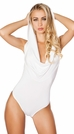 Hooded Rave Romper with Open Back, Rave Clothing, EDC Outfits