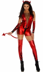 Red Devil Costume, Sexy Devil Costume, Illuminaughty Costume