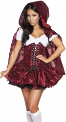 Little Red Riding Hood Costume, Fairytale Costumes, Little Red Riding Hood Costumes