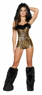Lovely Leopard, Animal Costume, Leopard Print Outfit, Roma Costume 4403