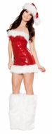 Miss Candy Cane Costume, Christmas Dress, Santa Dress
