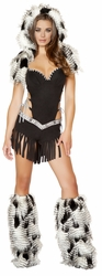 Native American Hottie, Sexy Native American Romper, Indian Women Costume, Roma 4469