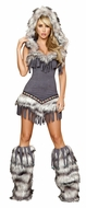 Native American Temptress, Indian Halloween Costume, Native American Outfit for Women
