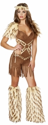Native American Warrior Costume, Indain Warrior Costume, Sassy Native Costume, Native Princess Halloween Costume, Cherokee Warrior Costume
