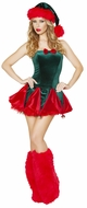 Naughty Elf Costume, Santa Costume for Women, Christmas Outfit