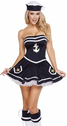 Naughty Navy Yard Vixen Costume, Navy Yard Costume 4580, Sailor Costume