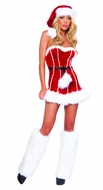 Naughty Santa Costume, Christmas Costumes for Women, Mrs Santa Costume