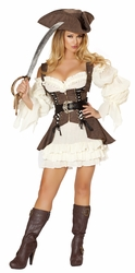 Naughty Ship Wench Pirate Costume, Roma Costume 4529