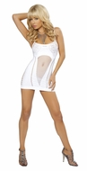 Net Window Mini Dress, Bedroom Net Dress, Ravewear, Dance Wear