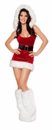 North Pole Babe Costume, Christmas Costumes for Women, Sexy Christmas Outfits