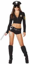 Officer Hottie Costume, Police Officer Costume, Police Woman Costume, Roma Costume 4500