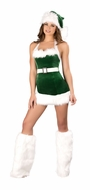 Santa's Elf, One Piece Santa's Elf, Christmas Party Costume for Women