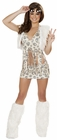 Peace Hippie Top and Skirt Costume