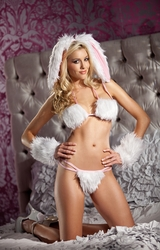 Sexy Women's Costume, Bedroom Costumes for Women, Playful Bunny Costume