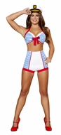 Sailor Halloween Costume, Playful Pinup Sailor Costume, Pinup Sailor Costume