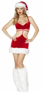 Santa's Beauty, Santa Costume for Women